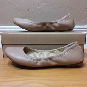 Lucky Brand LK-Emmie Leather Ballet Flats Size 8